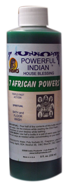 7 African Powers Bath Soap Floor Wash