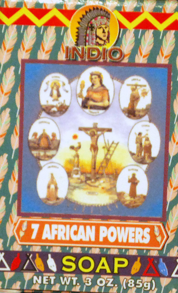 7 African Powers Spiritual Soap