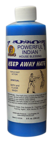 Keep Away Hate Bath Soap/Floor Wash