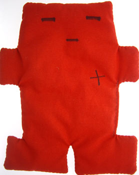 Voodoo Doll (Red)