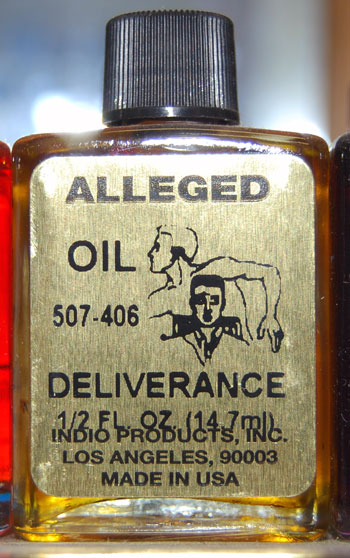Deliverance Oil 1/2 ounce