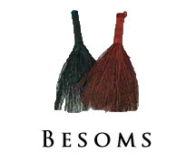 Wiccan besom broom