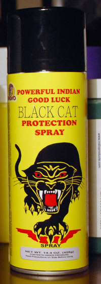 Black Cat Protection Spiritual Spray