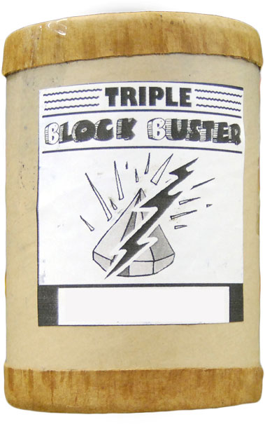 Triple Block Buster Incense 4 ounce