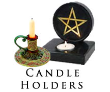 spiritual candle holders