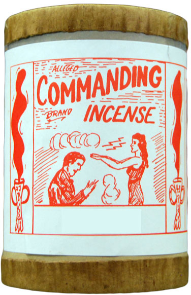Commanding Incense 4 ounce