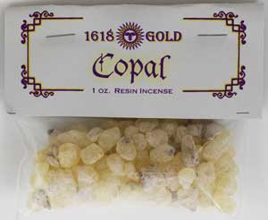 Copal Granular Incense 1 oz