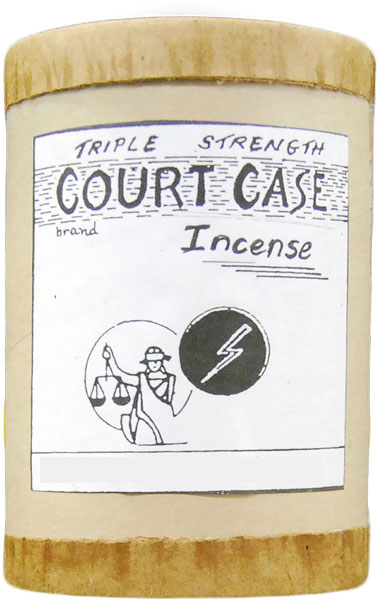 Triple Strength Court Case Incense 16 ounce