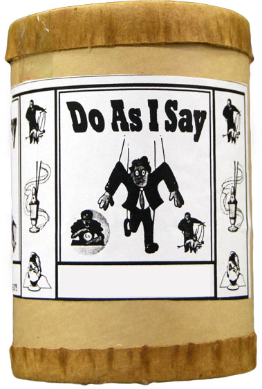 Do as I say Incense 4 ounce