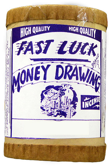 Fast Luck Money Drawing Incense 4 ounce