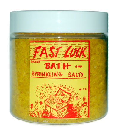 Fast Luck Bath Salts