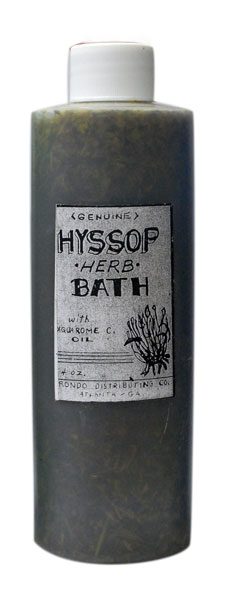 Hyssop Bath Soap/Floor Wash