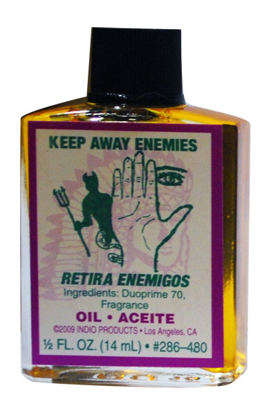 Keep Away Enemies Oil