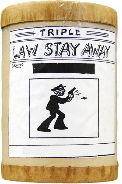 Triple Law Stay Away Incense 4 ounce