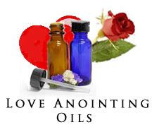 spiritual love anointing oil