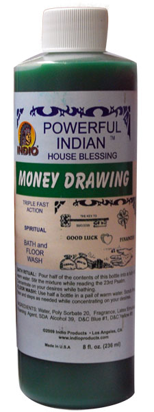 Money Drawing Bath Soap/Floor Wash