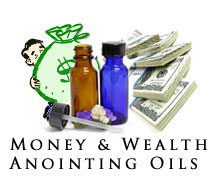 spiritual money and wealth anointing oil
