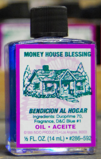 Money House Blessing Oil