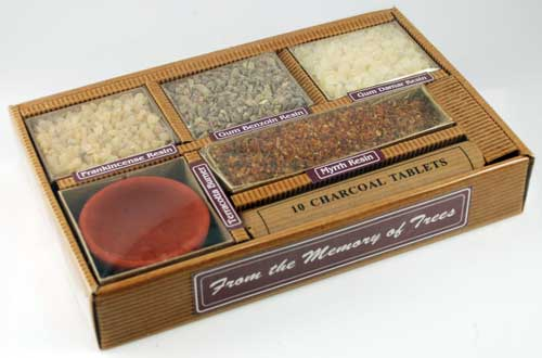 Resin Gift Pack with Burner and Charcoal Starter Kit