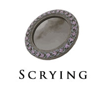 spiritual scrying mirrors and bowls