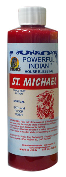 Saint Michael Bath Soap/Floor wash