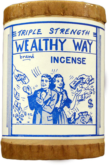 Triple Strength Wealthy Way Incense 4 ounce