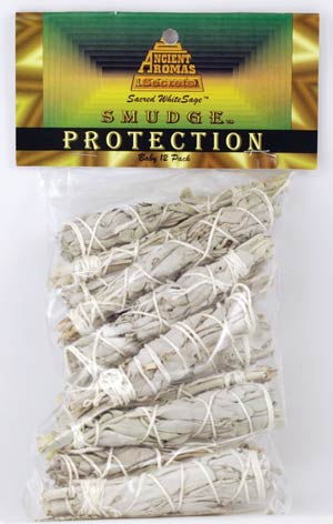 Baby White Sage smudge stick 12-Pack