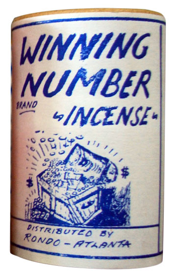 Winning Numbers Incense (4 ounce)